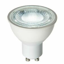 GU10 LED Bulb SMD 60 Degrees 7W Daylight White Accessory - Matt White Plastic