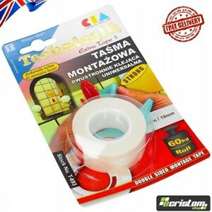 Tape ASSEMBLY TAPE Technicqll T693 Extra Strong 2 sided adhesive universal metal