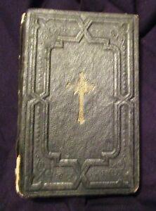 Pocket Little Key of Heaven Miniature Prayer Book Vintage 1939 Edition