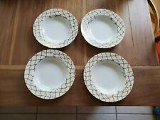 "4 Vintage Angela Cummings ARITA Rope 9"" salad soup bowls rare"
