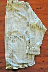 ARROW KENT shirt, size 2XL, long sleeve, blue check