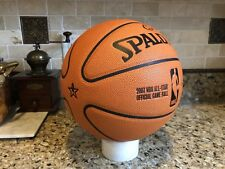 Official Spalding All Star Cross Traxxion NBA Game Ball Leather Basketball RARE