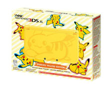 Nintendo 3DS XL Pikachu Yellow Edition Console