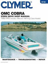 1986 1993 OMC Cobra/King Stern Drive Repair Manual 1992 1991 1990 1989 1988 B738