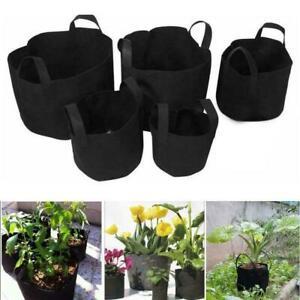 Grow Bags Felt Grow Bag Gardening Fabric Grow Pot Vegetable HOT Growing X4P5