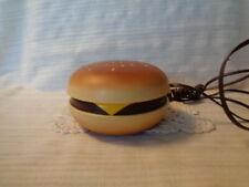 Retro Cord Hamburger Telephone Phone Vintage Novelty Gift