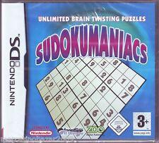 SUDOKUMANIACS (2006) NINTENDO DS EDIZIONE ITALIANA, PAL NUOVO SIGILLATO