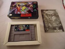 Battletoads/Double Dragon: The Ultimate Team (Super Nintendo SNES 1993) COMPLETE