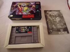 Battletoads/Double Dragon: The Ultimate Team (Super Nintendo SNES 1993) COMPLETE