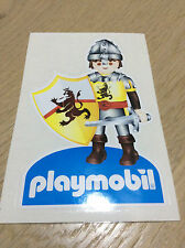 STICKERS STICKS AUTOCOLLANT playmobil Château Fort  Chevaliers du Lion NEUF