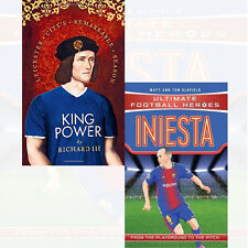 Leicester City's Remarkable, Iniesta Ultimate Football 2 Books Collection Set UK