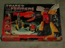 TRANSFORMERS G1 1985 OMEGA SUPREME HASBRO SERIES 2 MIB 100% Complete AFA it!
