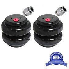 "Air Ride Suspension Pair Standard 2500lb Air Bags 1/2""npt Single Port Heavy Duty"