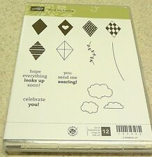 Stampin' Up! Clear Mount Stamp Set Send Me Soaring (set of 12) BNIB