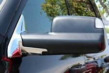 Chrome Mirror Base Covers | 2010-2017 Dodge Ram 2500 3500 (3M Tape)