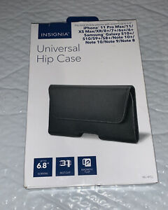 """Insignia- Universal Hip Case for Smartphones up to 6.7"""" - Black  NEW!!"""