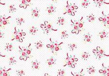 Per 1/2Yd Shabby Flower Sugar Sweet Carnival Pink Ribbon Bouquet 31378 20 Lecien
