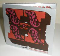 "MUSIC OF CHILE *LA LEY ""Historias e Histerias"" New CD/DVD Set -16 Songs, 23 Vids"