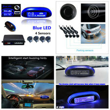LED Display Car Parking Reverse Backup Radar Monitor Detector System& 4 Sensors