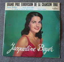 Jacqueline Boyer, Tom pillibi - eurovision 1960, EP - 45 tours