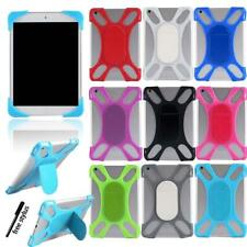 """For 7"""" 8"""" 10"""" ARCHOS Tablet - Silicone Soft Back Stand Shockproof Cover Case"""