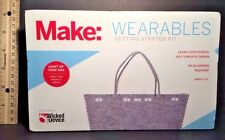 MAKE: Wearables Getting Started KIT No Soldering Light Up Bag NEW & SEALED