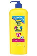 Banana Boat Kids Tear-Free Sun Protection Lotion SPF 50 360ml (Free Postage) New