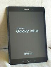 "SAMSUNG GALAXY TAB A 9.7"" Tablet. SM-T550 modello. 16 GB in Nero"
