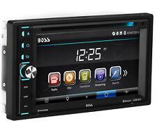 Boss BV9358B Double DIN Bluetooth DVD USB Car Stereo Receiver 6.2