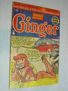 Ginger #4 G+ GGA Classic Cover A New Sleek Red Convertible