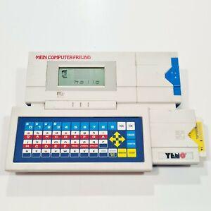 ©1989 Vtech YENO® Lerncomputer MEIN COMPUTER-FREUND dt. Lesen/Rätsel/Wortsalat