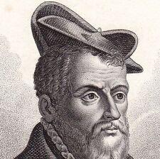Portrait Pierre Belon Cérans Foulletourte Sarthe Zoologie Médecine Botanique