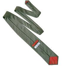 PAUL SMITH Mens Brown Beige Patterned Silk Necktie Formal Work Tie > RRP £80