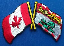 Canada / Prince Edward Island PEI Flag Patch Embroidered Iron On Applique