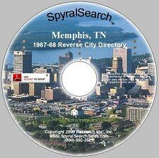 TN - Memphis City & Suburban 1967-68 Directory CD