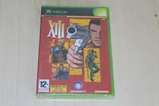 XIII Microsoft Original XBOX NUEVA FÁBRICA SELLADA PAL Reino Unido