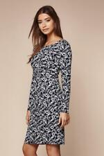 Yumi Lobster Rope Jersey Dress Navy Size UK 10 rrp £60 DH083 ZZ 13