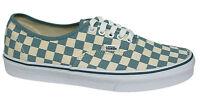 Vans Off The Wall Era Tablero de Ajedrez Blancas con Cordones Zapatillas Azules
