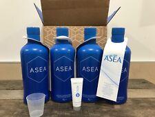 4 x 960 ml ASEA Redox complemento alimentario + 1 sample Renu 28