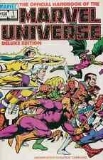 OFFICIAL HANDBOOK OF THE MARVEL UNIVERSE DELUXE EDITION #1-20 NM COMPLETE SET