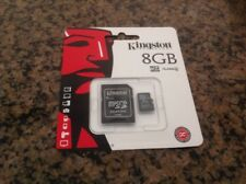 Kingston Technology 8GB Micro SDHC Class 4 Memory Card Adapter