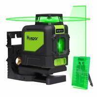 Huepar Set 901CG Kreuzlinienlaser Laserlichtbrille Empfänger Stativ Halterung