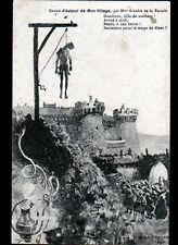 DOMFRONT (61) JEAN BARBOTTE incendiaire y fut pendu / Illustré par LA TOUCHE