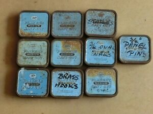 Joblot 10 x Vintage Players Navy Cut Tobacco Tins Collectable