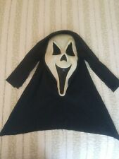 Scream Ghostface Ghost Face Mask Fun World cloth hood