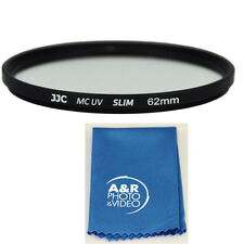JJC 62mm Multi coated Slim UV Filter For Nikon 70-300mm Sigma 18-200mm 18-300mm