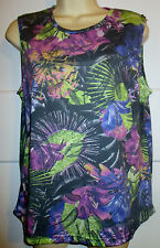 Floral Sleeveless T-Shirts for Women
