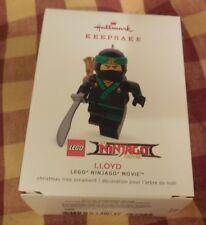 Hallmark Ornaments 2018 Keepsake Lloyd LEGO Ninjago Movie NEW in BOX