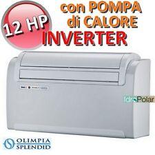 UNICO INVERTER 12 HP OLIMPIA SPLENDID SENZA UNITA' ESTERNA CON POMPA DI CALORE