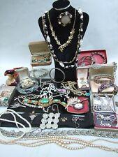 Bulk Lot Vintage Deceased Estate Jewellery Necklaces  Rings Bracelets Earrings